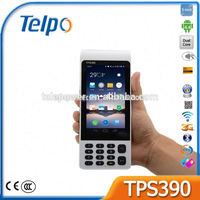 Telepower TPS390 parking Barcode Scanner Tablet POS Terminal with Printer Payment Terminal electronic