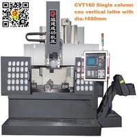 CVT160 Economy Single Column CNC Vertical Turning Lathe Machine