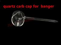 [JLH] Quartz carb cap for banger. Real quartz ! We also offer quartz swing, honey bucket quartz bubbler, titanium swing