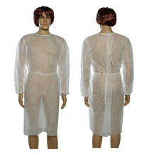 Disposable Waterproof Isolation Laboratory Gown