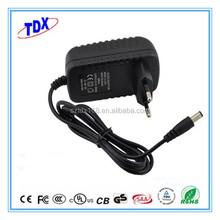 CE FCC power adapter 18v 500ma wall mount plug power supplies