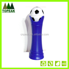 2014 Brazil World Cup football bottle, Outdoor Cycling Bike Bicycle PP plastic ball shaped sports water bottle 500ml