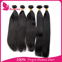 6a thick ends unprocessed free brazilian hair weaving straight cheap x-pression braid hair wholesale