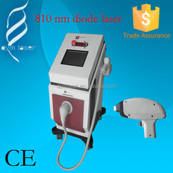 effective hair removal medical machine diode laser 810nm diode laser hair removal