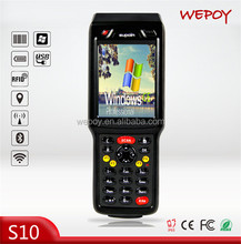 Hot waterproof and dustproof CE WIFI 3G BT barcode scanner inventory for sale