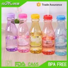Yeni varış popüler satış pop şekil Pete plastik soda şişesi rh208-350