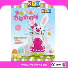 Best service OEM bunny DIY felt animals