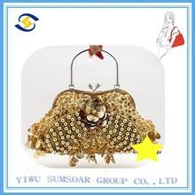 2014 ss fashion handbag ladies beaded clutch bag india