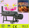 Happy New Year balcony iron charcoal outdoor BBQ Grill