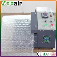Advanced & hot sale package air bubble bag / cushion making machine