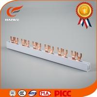 Copper neutral bar 1.8mm 80A 1p2p3p4p/Pin Type Copper Busbar/gymnastics parallel bars for sale