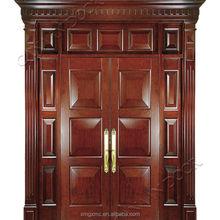 Canaan Doors villa entry Durable door Using oak Wood Panel Door Design