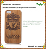 2015 Hot New Product Logo Custom Wooden Wholesale Wood Mobile Phone Case For Iphone 4 4s