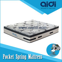OLS-FP30-1 Fashion Flower Pocket Spring Mattress With Coolux foam