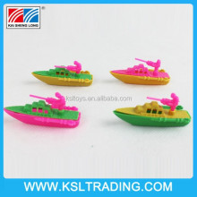 2015 Promotion cheap price warship mini plastic toy ships