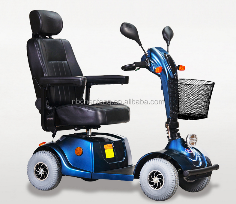 500w 4 Wheel Ce Mobility Scooter For Elderly And