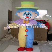 Hola colorido traje de fotos de época payasos adultos
