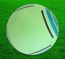 Custom printed ,4# rubber soccer balls sporting goods