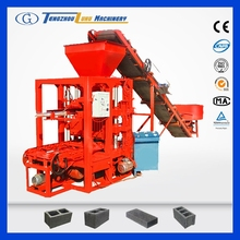 QTJ4-26 fly ash concrete block machine with used price