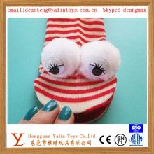 plush mascot sock puppet toys