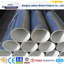 Anti Corrosion Steel Pipe , Inside And Outside Plastic Coated Epoxy Steel Pipe For Sewage Discharge