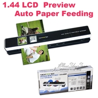 """Handyscan 1200DPI Rechargerable 1.44"""" Preview Skypix TSN480 Portable Scanner Handheld Scanners"""