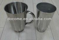 Blender stainless steel jar