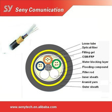 Single mode All dielectric self-supporting aerial ADSS fiber optic cable