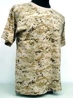 Wholesale Short-sleeved T-shirt TC 65/35 military CP camo T-shirts O-neck T-shirts
