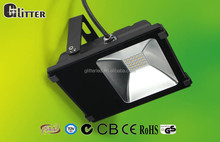 EMC 3030 IP66 multi color led outdoor flood light 12v green with CB GS CE ROHS SAA Certification