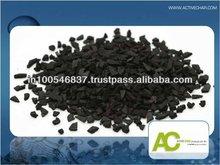 carbón activado para el amoníaco filtro de gas