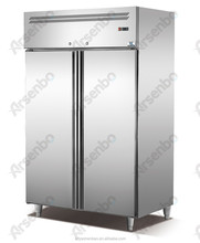 28 pans Commercial Refrigerator&Freezer Free standing Stainless Steel