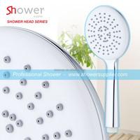 SH-1184 Round White Color Big Spray face Eco Handle Shower