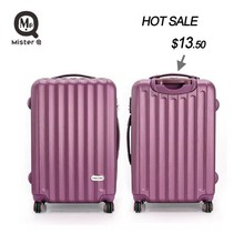 Colourful ABS suitcase/Hot sale ABS trolley luggage/Wenzhou ABS travel luggage bags