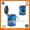 hermético 4c lata de té redonda contenedores
