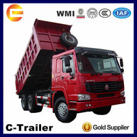 nice tipper! 6x4 371hp howo dump truck tipper for hot sale