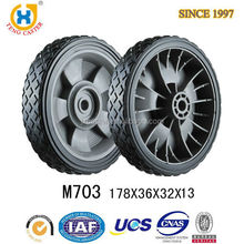 High quality High Performance Strong 7 inch lawn mower wheels