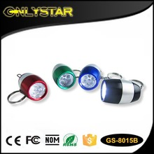 mini led flashlight keychain hand torch, led keychain flashlight keyring torch, wholesale led promotional flashlight