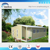 wooden cladding steel structure house bungalow