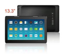 13.3inch RK3188 front 2MP Rear 5MP camera External 3G dongle tablet