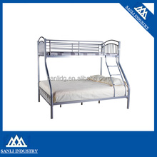 Metal Triple Children Sleeper Bunk Bed Frame