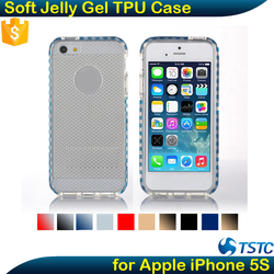 Stock lot Clearance Paypal Accept Cell Phone Back Cover Soft Gel TPU Cover Case for iPhone 5s