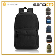 New product leisure school back pack, unisex gender plain back bag