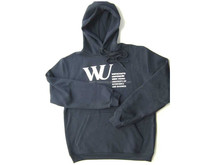 Mens hip hop clothing plain black fleece sportswear bulk custom gym hoodie