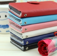 new product Flip Leather phone case for Huawei Ascend G610