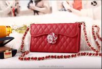 fashion women style portable shoulder lanyard diamond grain mobile phone wallet case cover for samsung s4/i9500