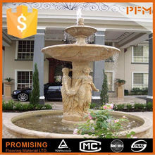 Good quality & best price in China marble fountain fish