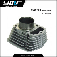 Aluminium Die Casting Motorcycle Engine Parts Middle Cylinder Blocks