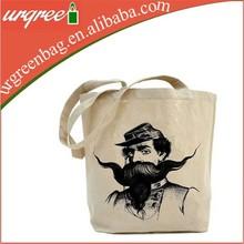 Fashion Printing Calico Canvas Shoulder Shopping Bag