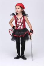 halloween costumes for kids pirate costume with bandana JXSL-2027